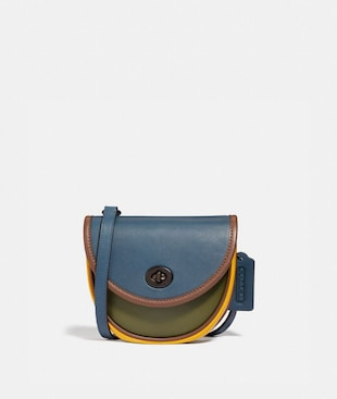 TURNLOCK CONVERTIBLE CROSSBODY IN COLORBLOCK