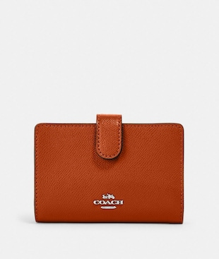 MEDIUM CORNER ZIP WALLET