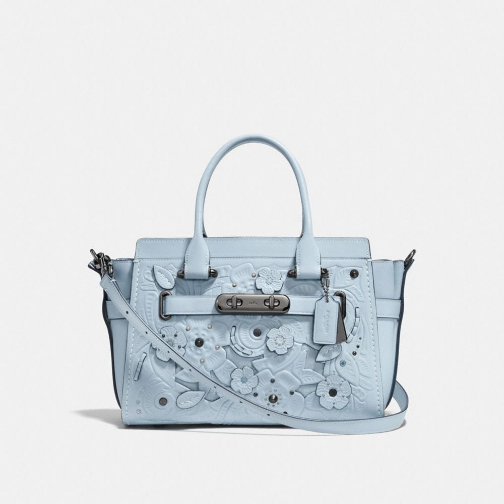 COACH SWAGGER 27 WITH TEA ROSE TOOLING