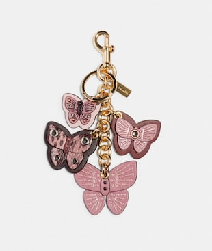 BUTTERFLY CLUSTER BAG CHARM