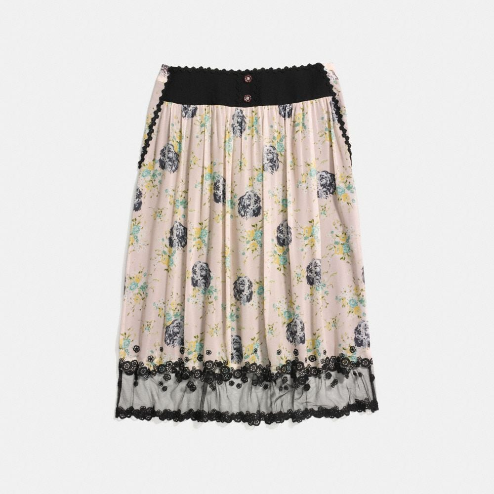 PRAIRIE DOG ROSE TIERED SKIRT