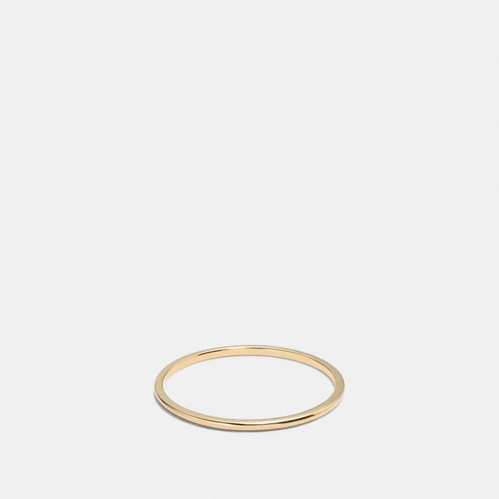 18K GOLD PLATED SUNBURST SIMPLE BAND RING