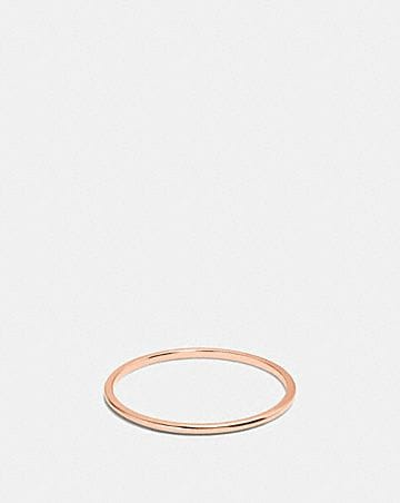 DEMI-FINE SUNBURST SIMPLE BAND RING