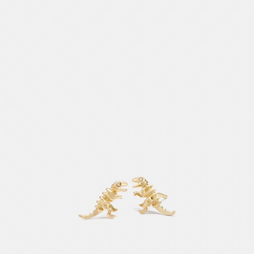 MINI 18K GOLD PLATED REXY STUD EARRINGS