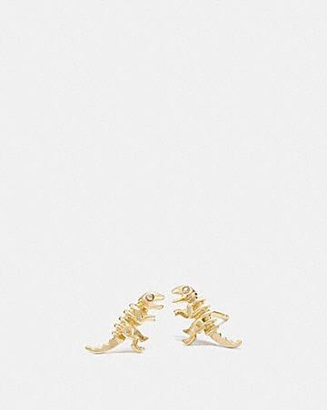 MINI 18K GOLD PLATED REXY STUD EARRINGS