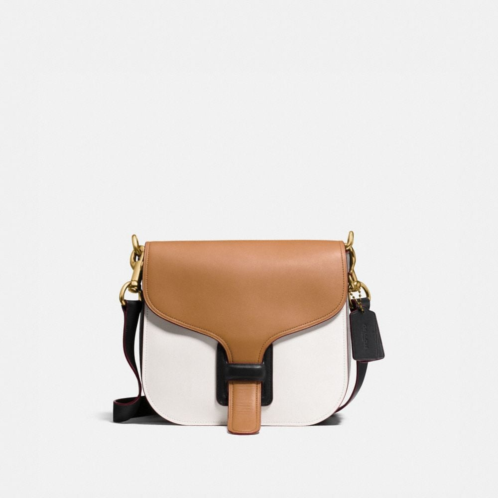 COURIER BAG IN COLORBLOCK