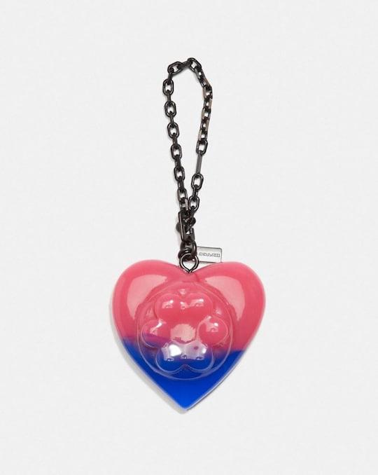 COACH X RICHARD BERNSTEIN JELLO HEART BAG CHARM