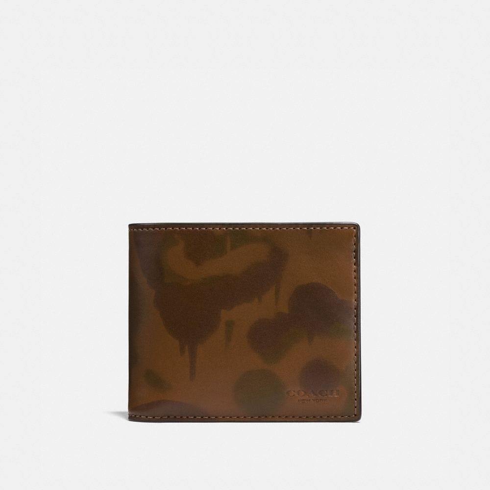 3-IN-1 WALLET WITH WILD BEAST PRINT