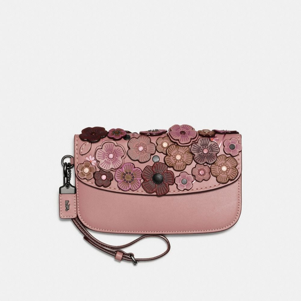 "CLUTCH IM FEINEN ""TEA ROSE""-DESIGN"