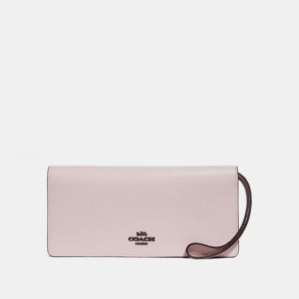 SLIM WALLET IN COLORBLOCK
