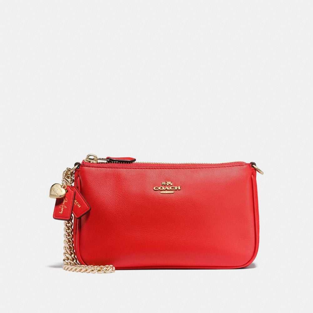 SELENA WRISTLET 19 IN MIXED LEATHERS