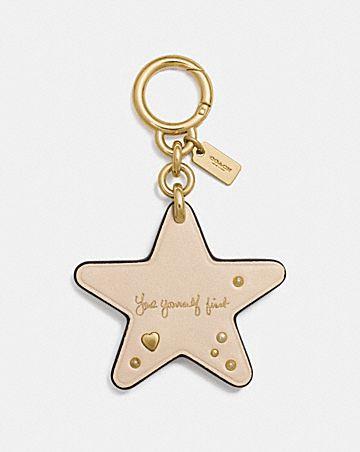 SELENA STAR BAG CHARM