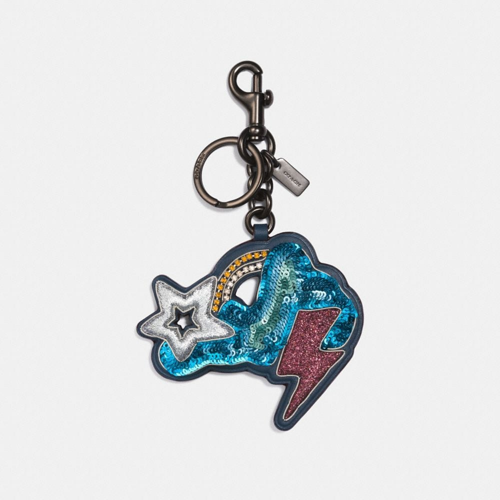 CLOUD AND STAR BAG CHARM