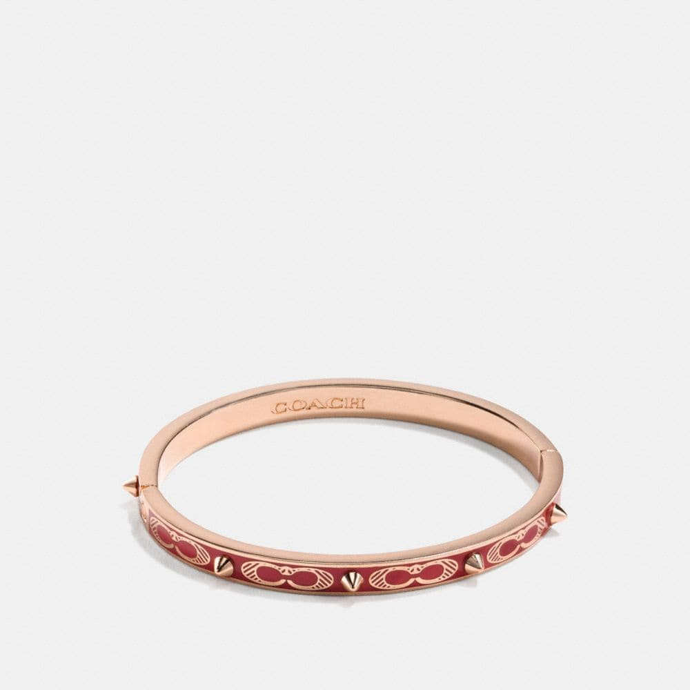 SIGNATURE STUDDED BANGLE