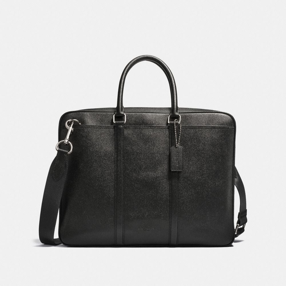 PORTE-DOCUMENTS FIN METROPOLITAN EN CUIR CROSS-GRAIN