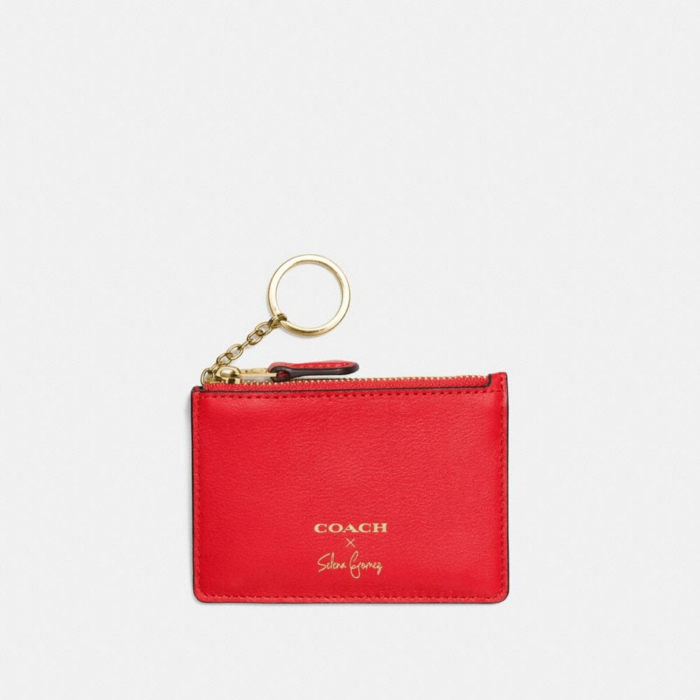 SELENA MINI SKINNY ID CASE IN REFINED CALF LEATHER