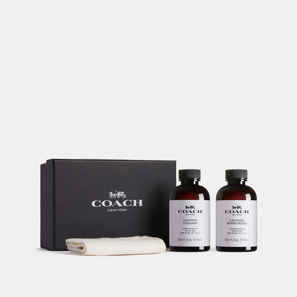 COACH LEATHER CARE SET