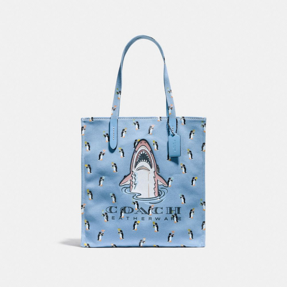 BORSA LARGA CON SHARKY