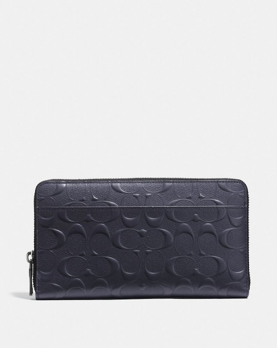 DOCUMENT WALLET IN SIGNATURE LEATHER