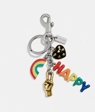 RAINBOW MULTI BAG CHARM