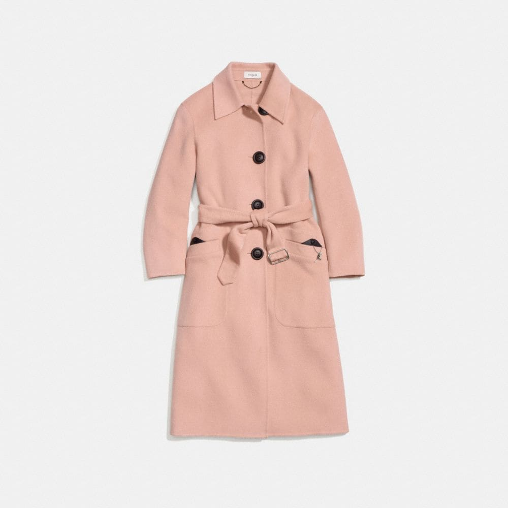 LUXURY WOOL TRENCH