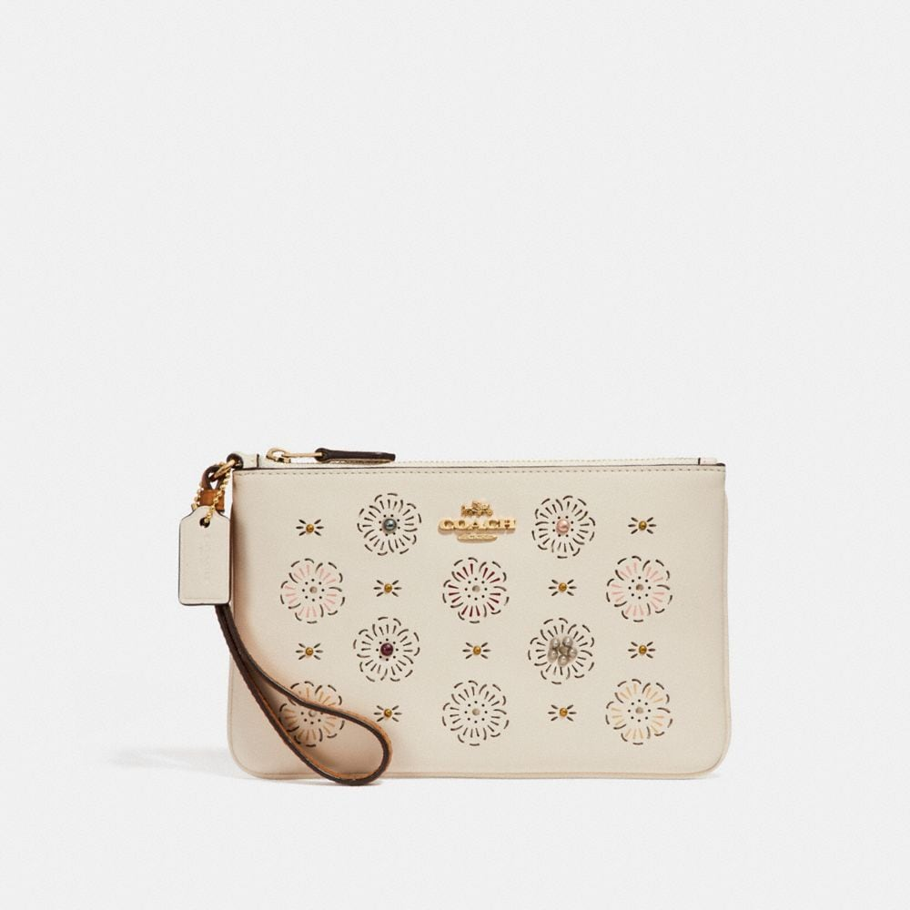 SMALL WRISTLET WITH CUT OUT TEA ROSE