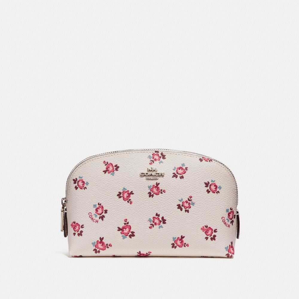 COSMETIC CASE 17 WITH FLORAL BLOOM PRINT