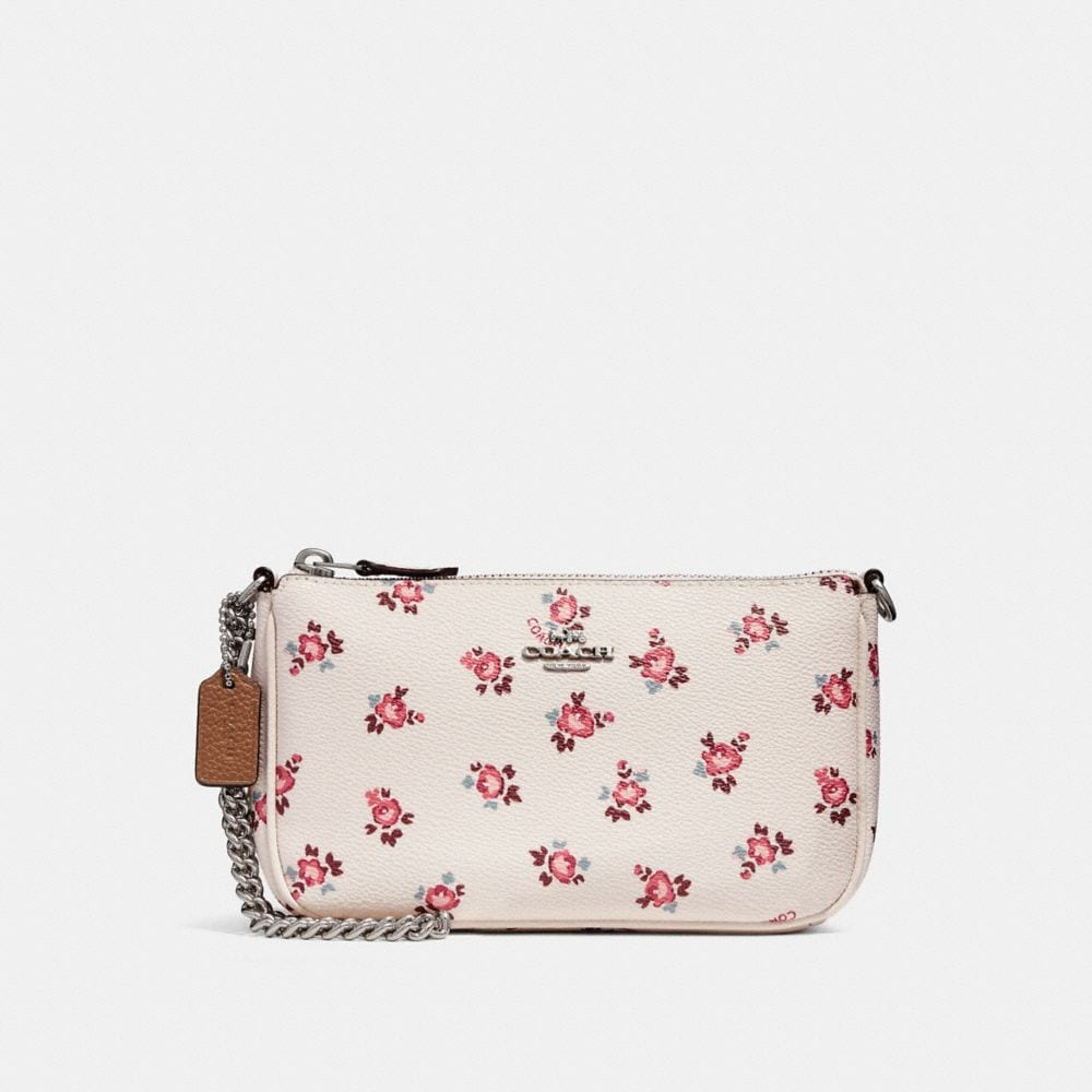 NOLITA WRISTLET 19 WITH FLORAL BLOOM PRINT