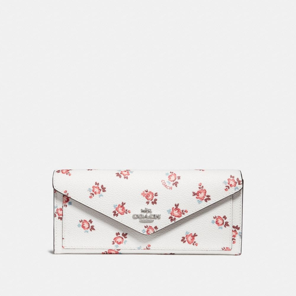 CARTERA SUAVE CON ESTAMPADO FLORAL BLOOM