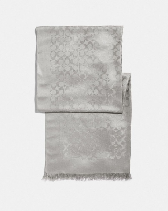 SIGNATURE METALLIC STOLE