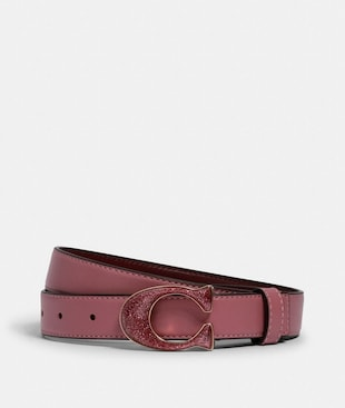 SIGNATURE BUCKLE BELT, 25M