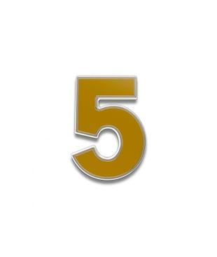 Number 5 Souvenir Pin