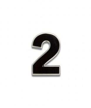 Number 2 Souvenir Pin