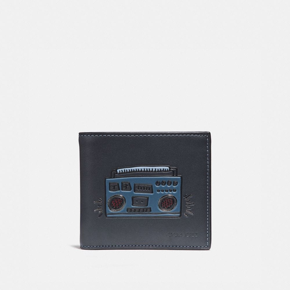 COACH X KEITH HARING DOUBLE BILLFOLD WALLET