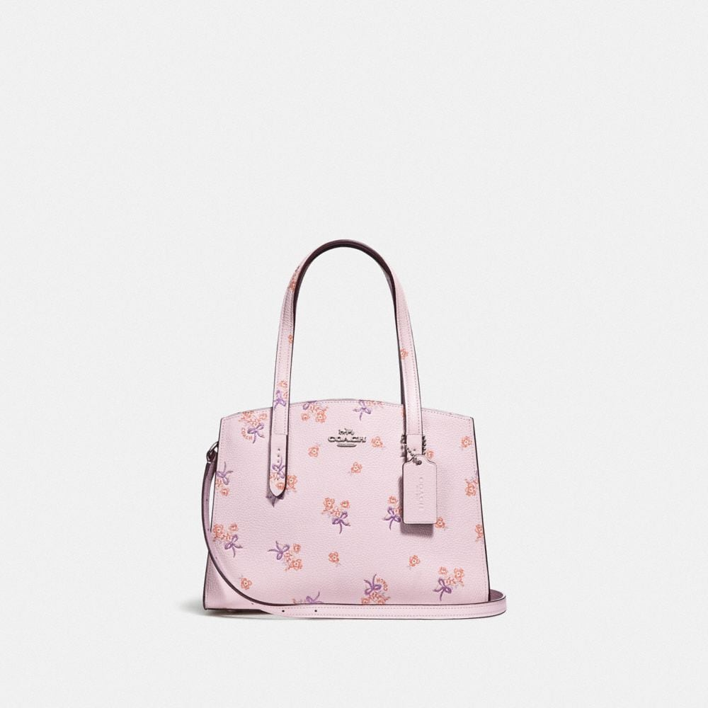 CHARLIE CARRYALL 28 WITH FLORAL BOW PRINT