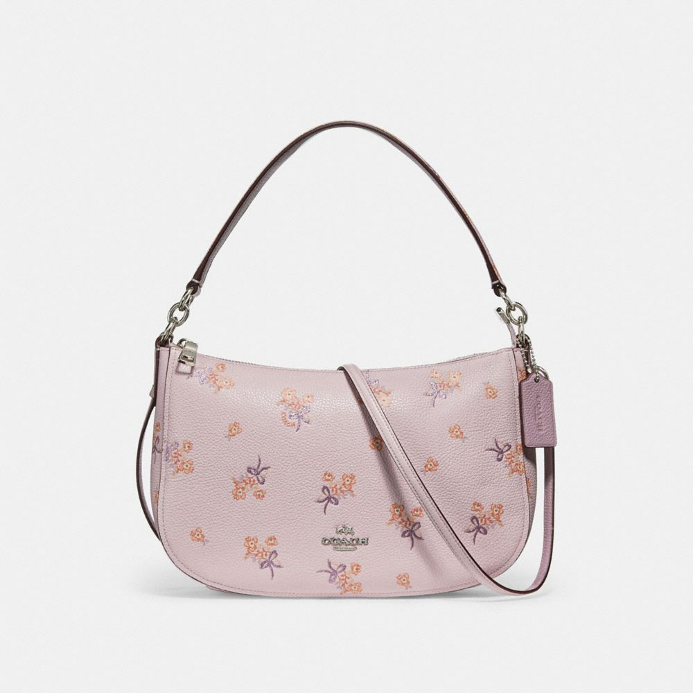 CHELSEA CROSSBODY WITH FLORAL BOW PRINT