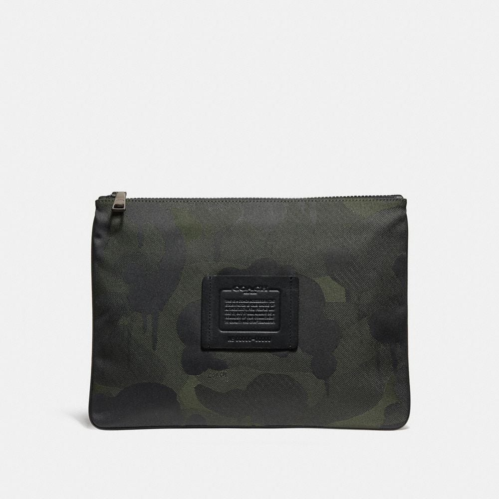 LARGE MULTIFUNCTIONAL POUCH IN CORDURA® FABRIC WITH WILD BEAST PRINT