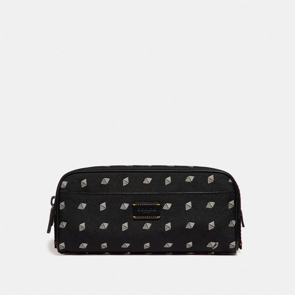 DOPP KIT WITH DOT DIAMOND PRINT