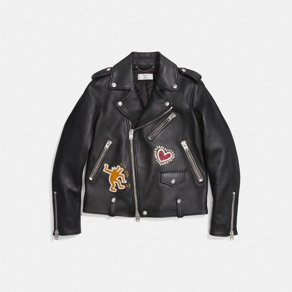 COACH X KEITH HARING MOTO JACKET