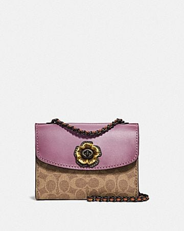 Womens bags new arrivals coach parker 18 in colorblock signature canvas mightylinksfo