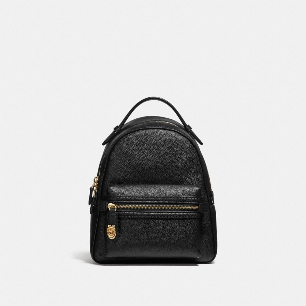 CAMPUS BACKPACK 23 IN POLISHED PEBBLE LEATHER