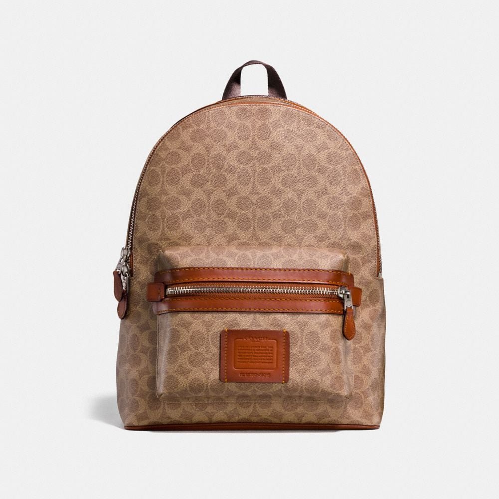 ACADEMY BACKPACK IN SIGNATURE COATED CANVAS