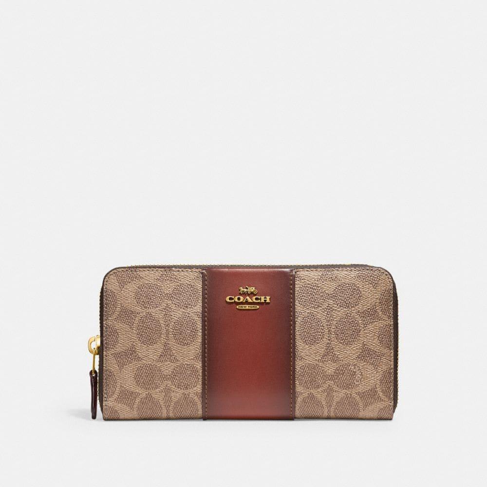women s leather wallets coach rh coach com