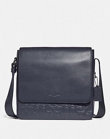 Metropolitan Map Bag In Signature Leather
