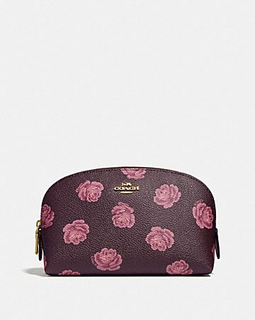 COSMETIC CASE 17 WITH ROSE PRINT 9d9a19d2c15ff