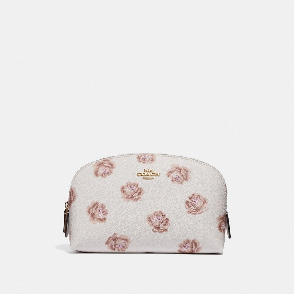 COSMETIC CASE 17 WITH ROSE PRINT