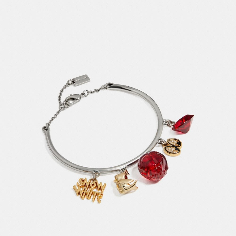 DISNEY X COACH SNOW WHITE BANGLE CHARM BRACELET
