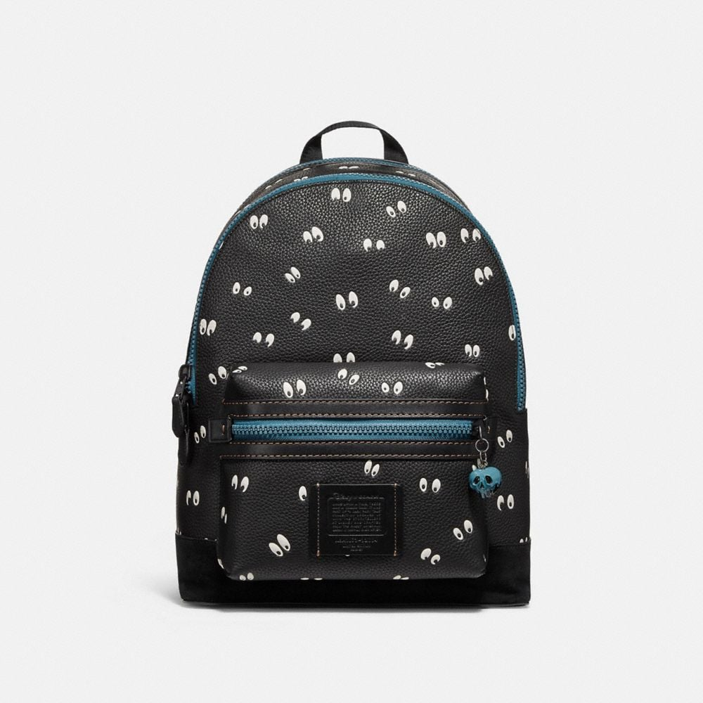 DISNEY X COACH ACADEMY BACKPACK WITH SPOOKY EYES PRINT