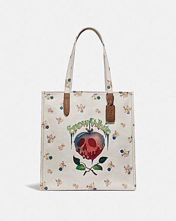 DISNEY X COACH POISON APPLE TOTE