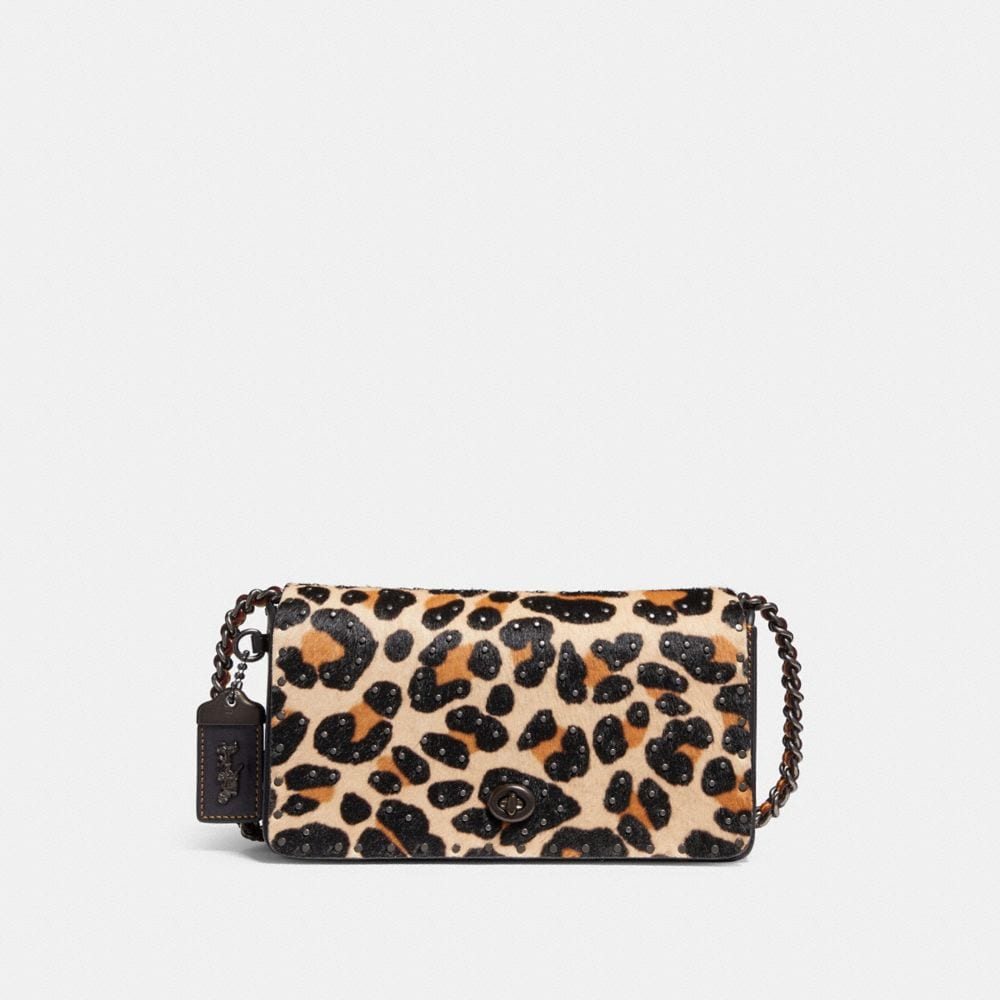 DINKY WITH EMBELLISHED LEOPARD PRINT